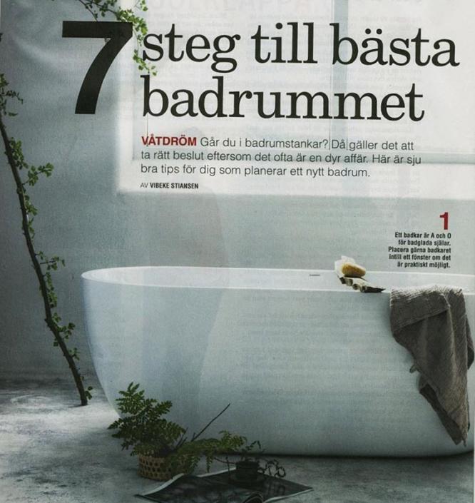 7 steg till bästa badrummet