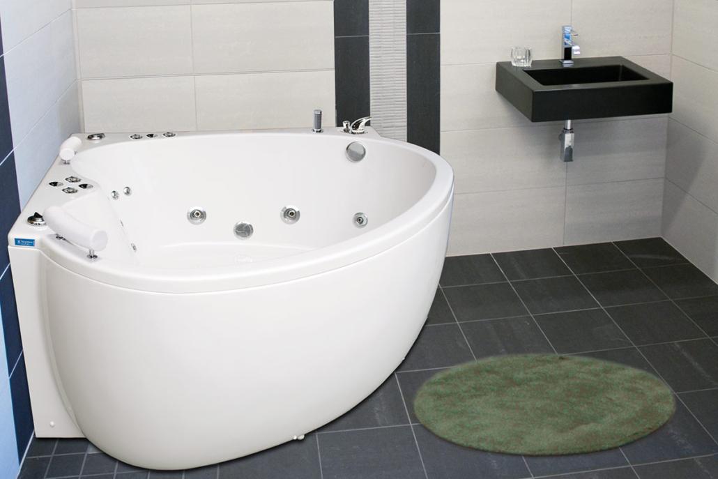 Neptun massagebadkar Tanzanit